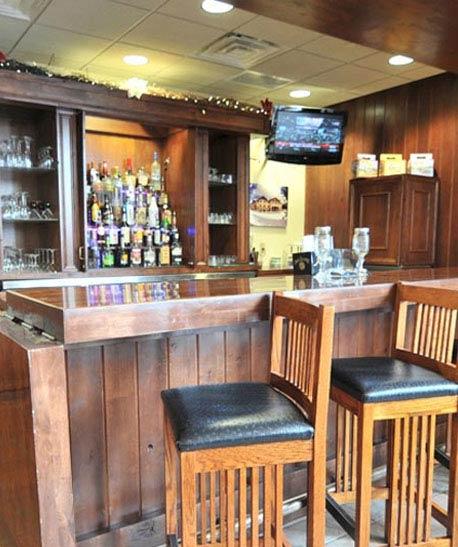 Bar at The Lodge at Big Sky, Montana