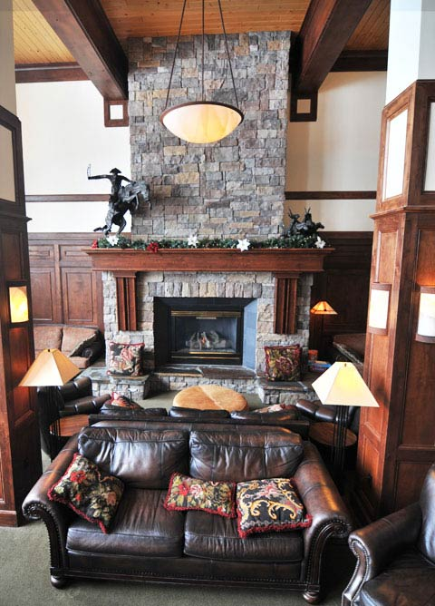 The Lodge at Big Sky Fireplace
